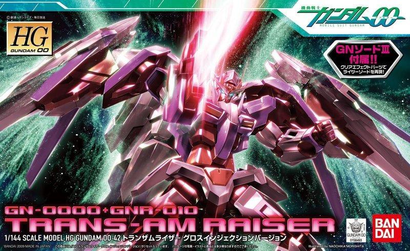 ☆勳寶玩具舖【鋼彈現貨】BANDAI 鋼彈OO HG 00 1/144 #42 00 RAISER 00R Trans-AM