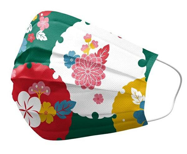 【現貨】東洋風來囉!!安博氏 善存 優美特 醫用平面口罩 東洋系列 成人 有兩種款式可選