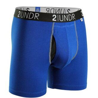 2UNDR【SWING SHIFT】男性内著BLUE(6吋)