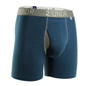 2UNDR【SWING SHIFT】男性内著Navy Grey(6吋)