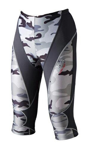 4DM 極輕量機能壓縮褲(七分褲/迷彩/女) 0