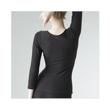 Colantotte直營網路專櫃 LADIES' SHIRT LONG SLEEVED 女用磁石長袖上衣 1