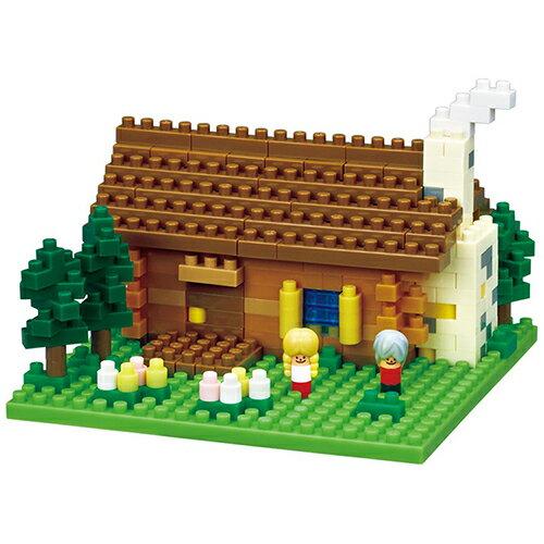 《 Nano Block 迷你積木 》NBH-151 瑞士小木屋