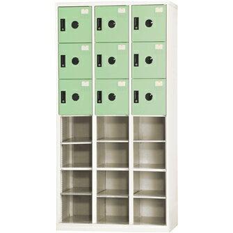 DAHFU 大富 DF-BL0912F 12開放式9小門置物櫃-W900xD510xH1802(mm)/個