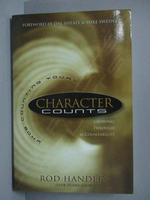 【書寶二手書T1/原文書_LOF】Character Counts_Rod Handley