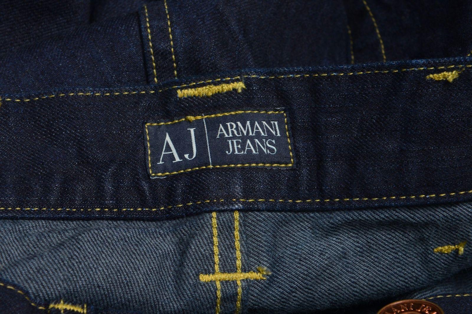 bab696e8 Armani Jeans AJ Men's Regular Fit Dark Blue Straight Leg Jeans