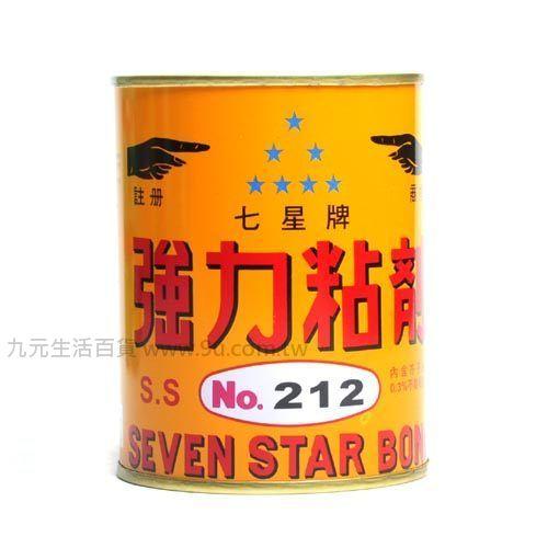 【九元生活百貨】七星牌強力黏劑 黏著劑 強力膠