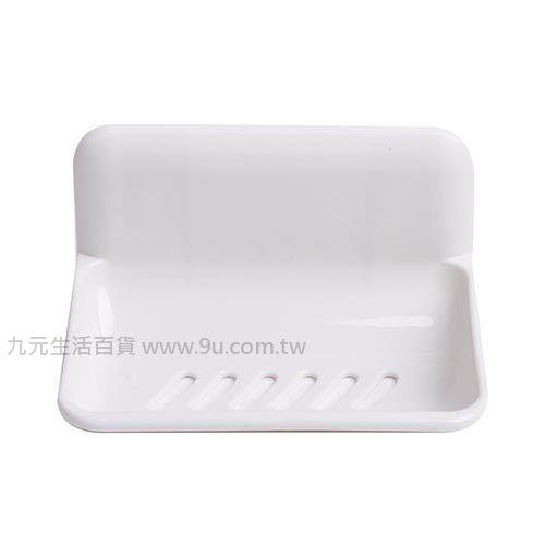 【九元生活百貨】抗菌單格吸盤皂盒 肥皂盒