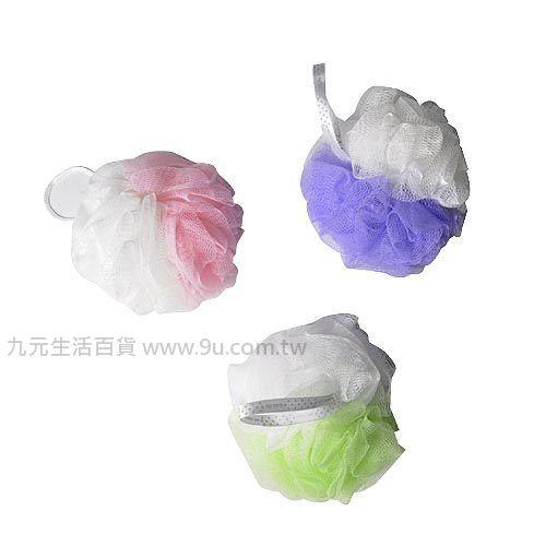【九元生活百貨】生活大師柔彩沐浴球 沐浴巾