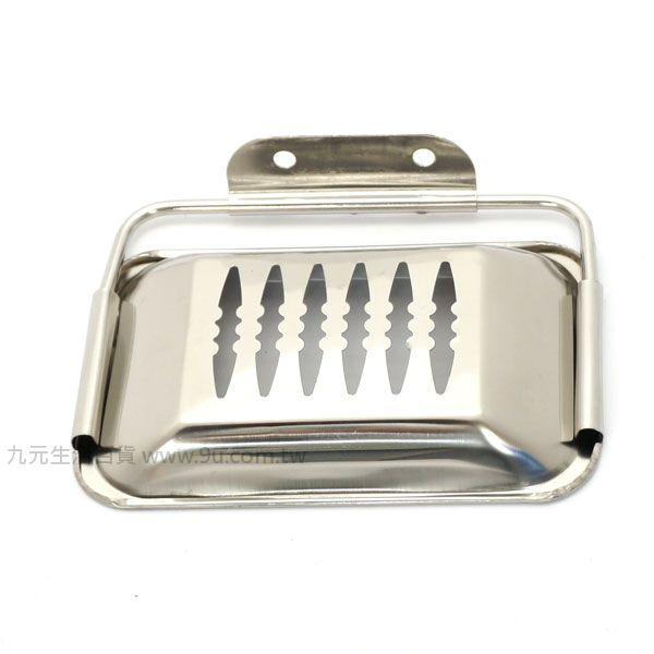 【九元生活百貨】不鏽鋼肥皂架 皂盒