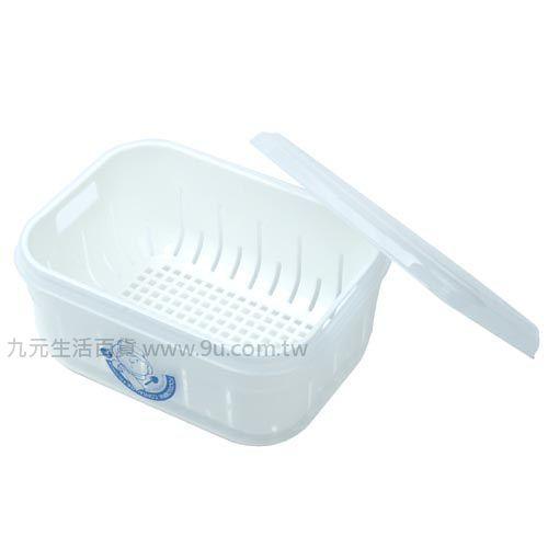 【九元生活百貨】佳斯捷 7886 甜媽媽6號濾水保鮮盒-2500ml 保鮮盒 濾水保鮮盒