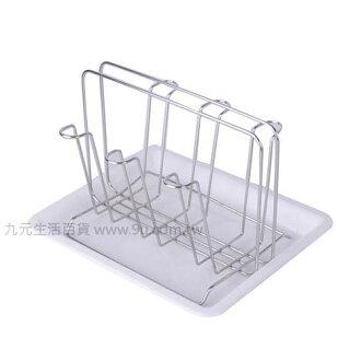 【九元生活百貨】御膳坊電解不鏽鋼杯架組 杯架 瀝水