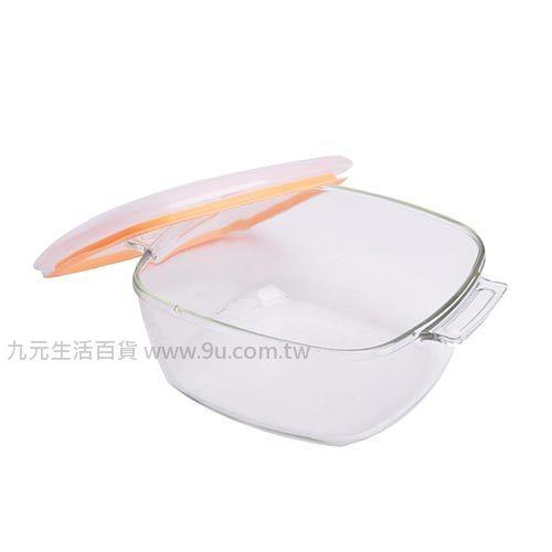 【九元生活百貨】耐熱玻璃萬用鍋-1.8L 保鮮 烤皿 玻璃鍋 耐熱鍋