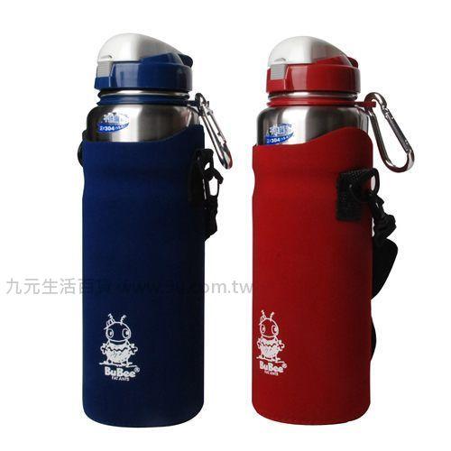 【九元生活百貨】金星Y-764SB不鏽鋼休閒壺-600cc (附保溫套) 保溫瓶