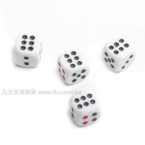 【九元生活百貨】16mm骰子/4入 桌遊