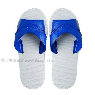 【九元生活百貨】12號藍白橡膠拖鞋 拖鞋 藍白拖