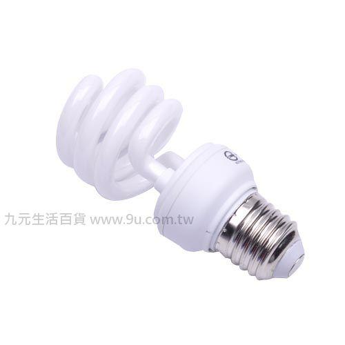 【九元生活百貨】光然13W電子式螺旋省電燈泡-白光 省電燈泡 燈泡