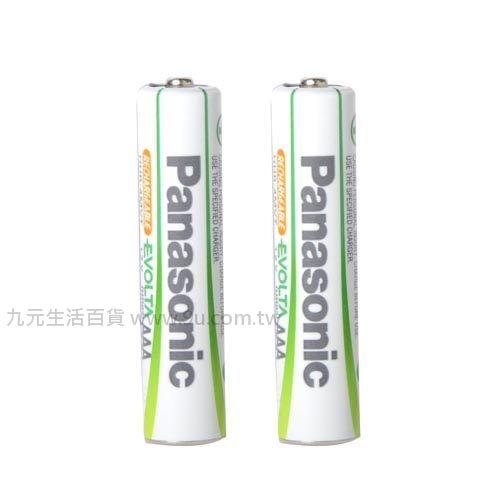 【九元生活百貨】Panasonic國際牌2入充電電池-4號 電池