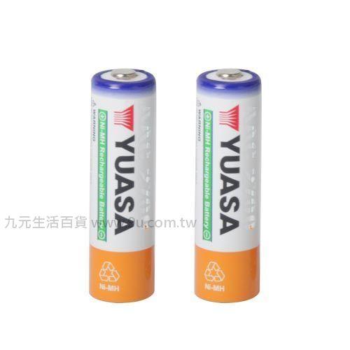 【九元生活百貨】日本湯淺2入鎳氫電池-3號 電池