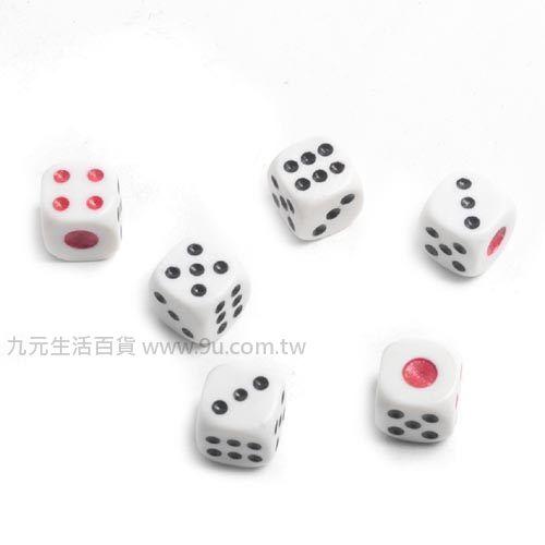 【九元生活百貨】14mm骰子/6入 桌遊