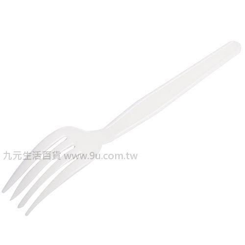 【九元生活百貨】7入塑膠西餐叉 免洗叉 叉子