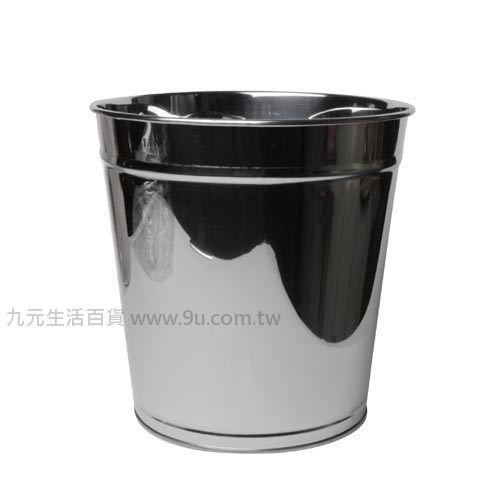【九元生活百貨】不鏽鋼垃圾桶-特大 紙林 垃圾桶