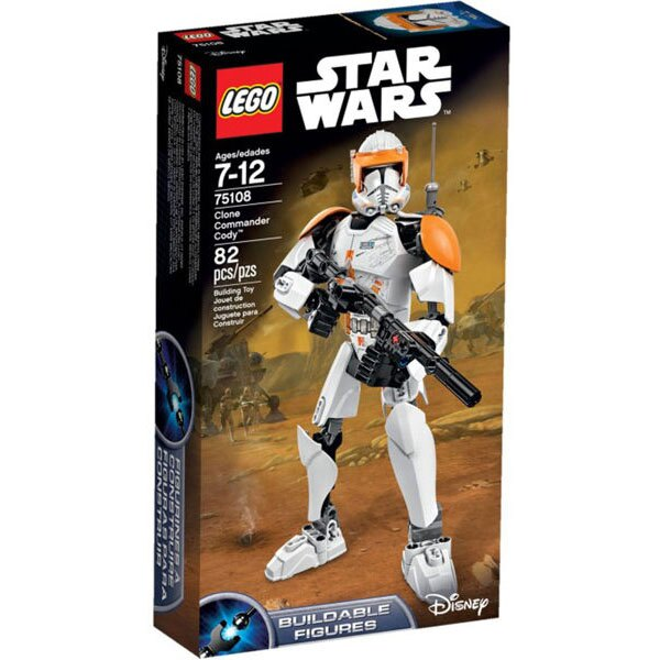 【LEGO 樂高積木】星際大戰 組裝戰士系列 - Clone Commander Cody LT-75108