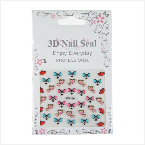 MEKO 3D Nail Seal 美甲貼 AC-047/彩繪指甲/指甲彩繪裝飾貼
