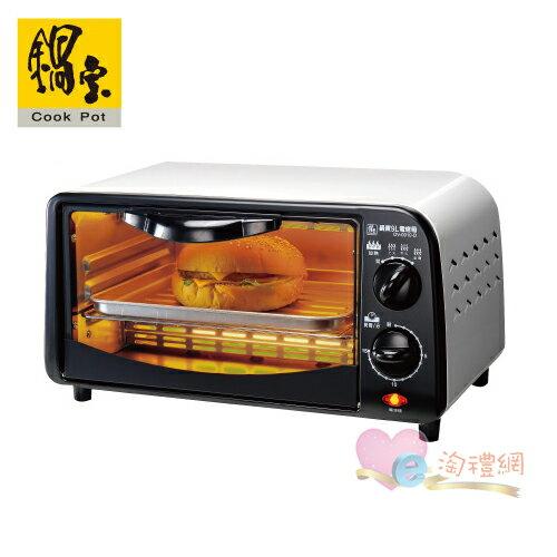 淘禮網  OV-0910-D 鍋寶雙旋紐9L電烤箱 加贈鍋寶玫瑰刀