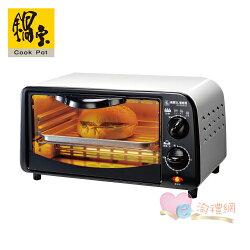 淘禮網     ※加贈#316不鏽鋼三件式餐具組      OV-0910-D 鍋寶雙旋紐9L電烤箱