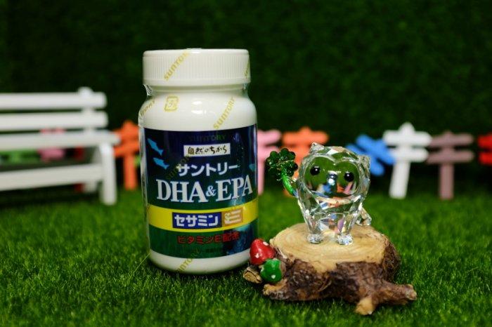 317021#三得利 魚油 DHA&EPA+芝麻明E 120錠#SUNTORY