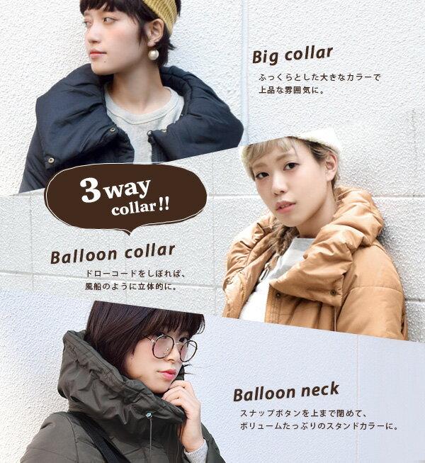 e-zakka 休閒長款羽絨大衣 / 32566-1501170。8色。(4212)日本必買 日本樂天代購 6