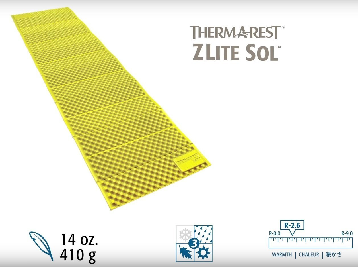 ├登山樂┤美國ThermARest Z Lite Sol 折疊睡墊 R 標準版 #06670