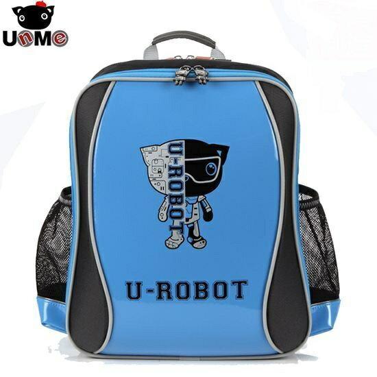 X射線 精緻禮品:X射線【C3243N】UnMe機器人後背書包(天空藍)3243台灣製造,開學必備護脊書包書包後背包背包便當盒袋書包雨衣補習袋輕量書包拉桿書包