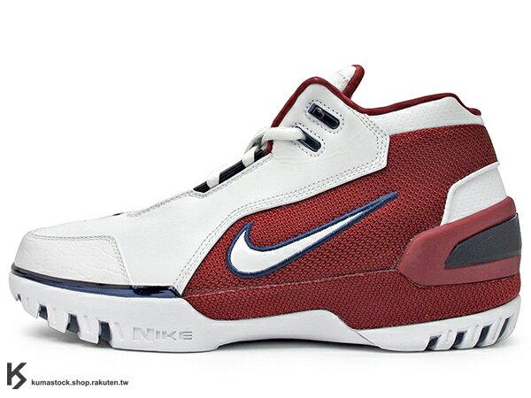 [29cm] 2017 小皇帝 LeBron James 世界限量 500 雙 超限量復刻 NIKE AIR ZOOM GENERATION FIRST GAME 白紅 主場配色 NBA 第一雙代言鞋款 H2 悍馬車 (941911-100) ! 0