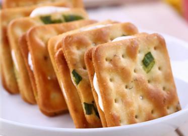 【喜福田】原味有蔥牛軋蘇打餅(140g/袋)