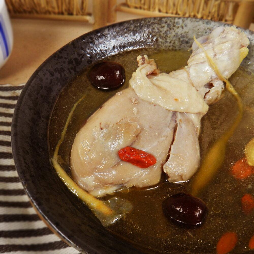 【好神】冬令暖身雞湯8包組(410g±10% / 包)(人參*2,花雕*2,麻油*4) 0