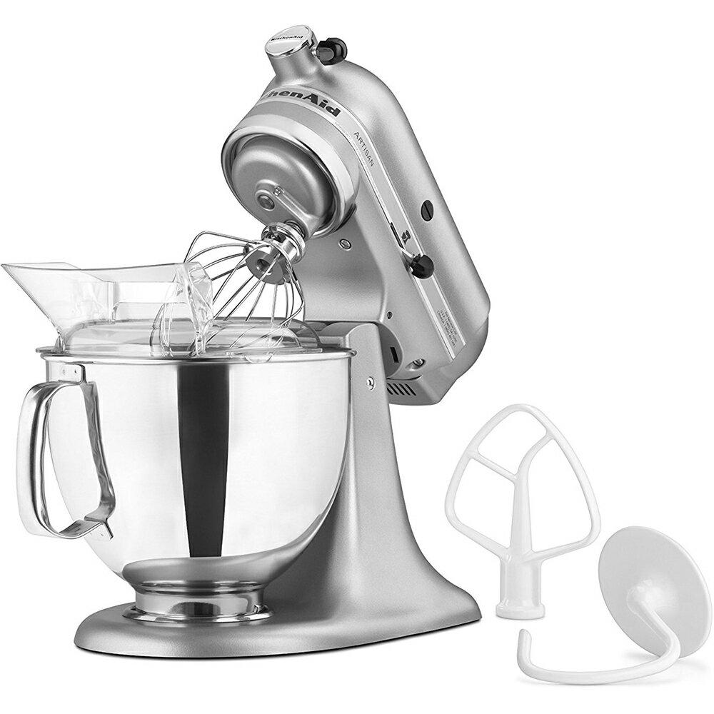 KitchenAid KSM150PSSM Artisan Series 5-Quart Stand Mixer, Silver Metallic 2