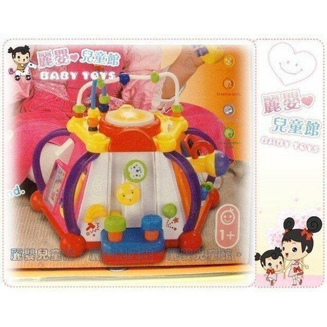 麗嬰兒童玩具館~匯樂-快樂小天地 .多功能六面音樂智慧盒.十五合一超有趣.專櫃同款 2