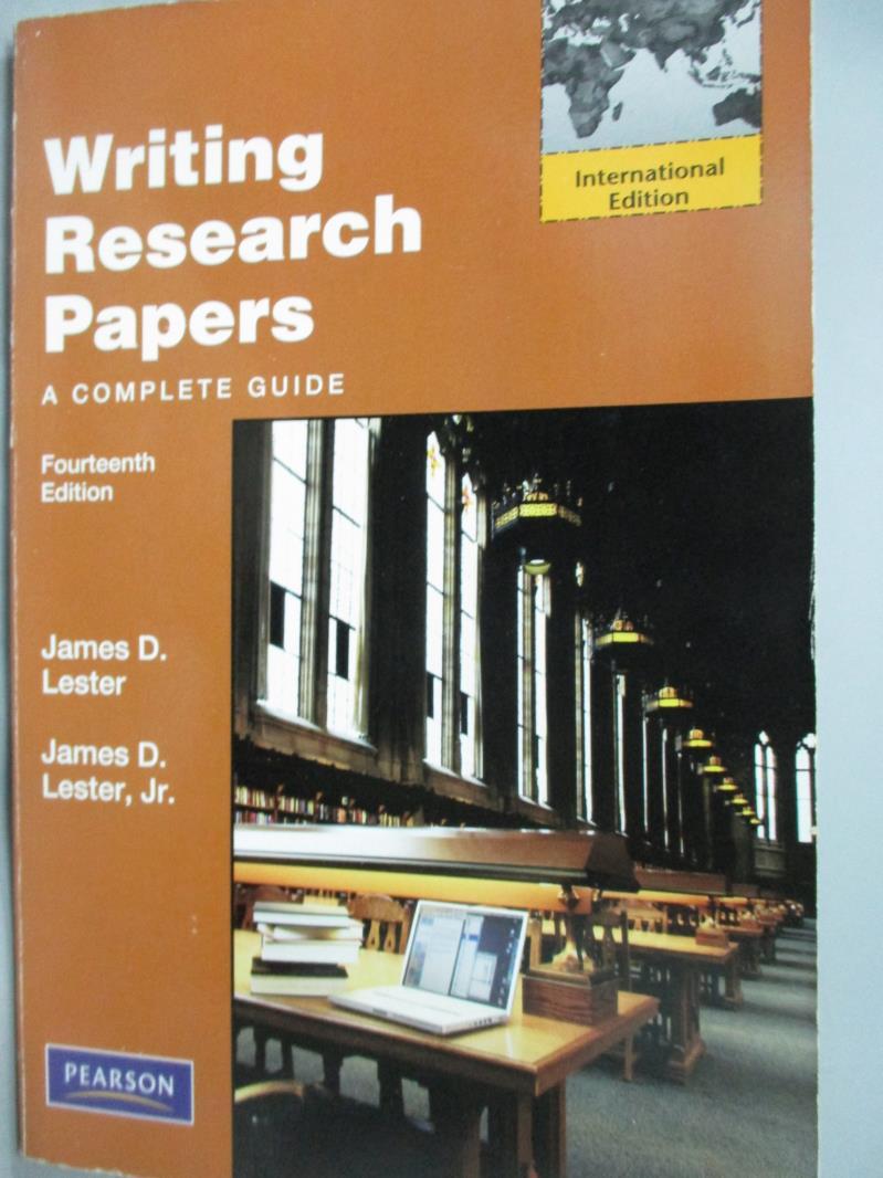 ~書寶 書T1/大學文學_YGG~Writing Research Papers_Jame