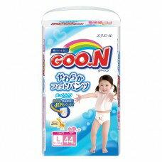 『121婦嬰用品館』大王 嬰兒褲型紙褲 L - 女(44片*3包/箱)