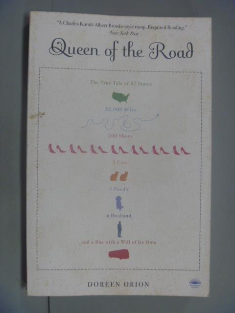 ~書寶 書T3/原文小說_LNY~Queen Of The Road_Orion Dore