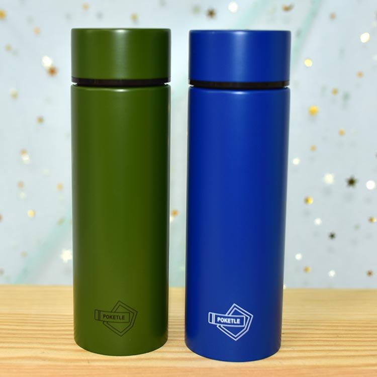日本最小 POKETLE 超輕量 不鏽鋼保溫瓶 保冰隨行瓶 120ml 日本正版商品 7