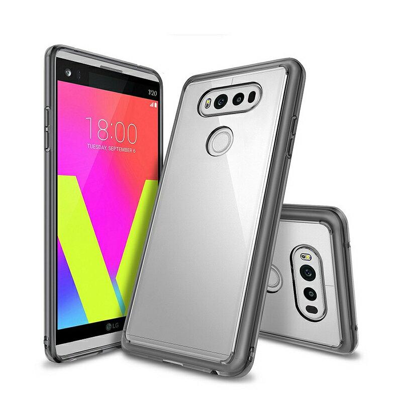 REARTH LG V20一體成形 透明保護殼 軍規認證防摔保護殼