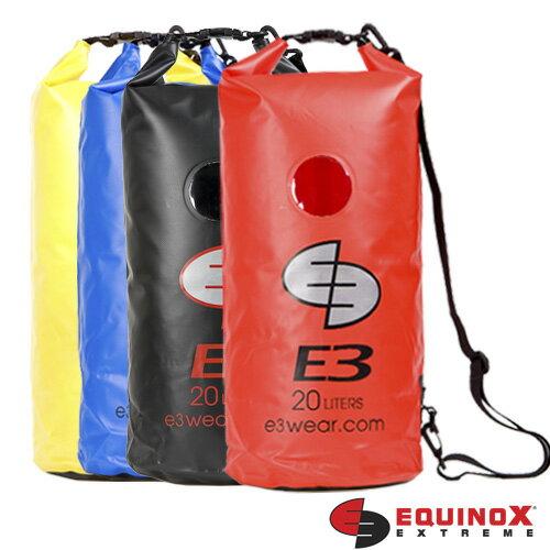 【【蘋果戶外】】EQUINOX 114 防水袋 20公升 20L 活動背帶 浮潛水 衝浪 游泳 溯溪 泛舟 防水救難包