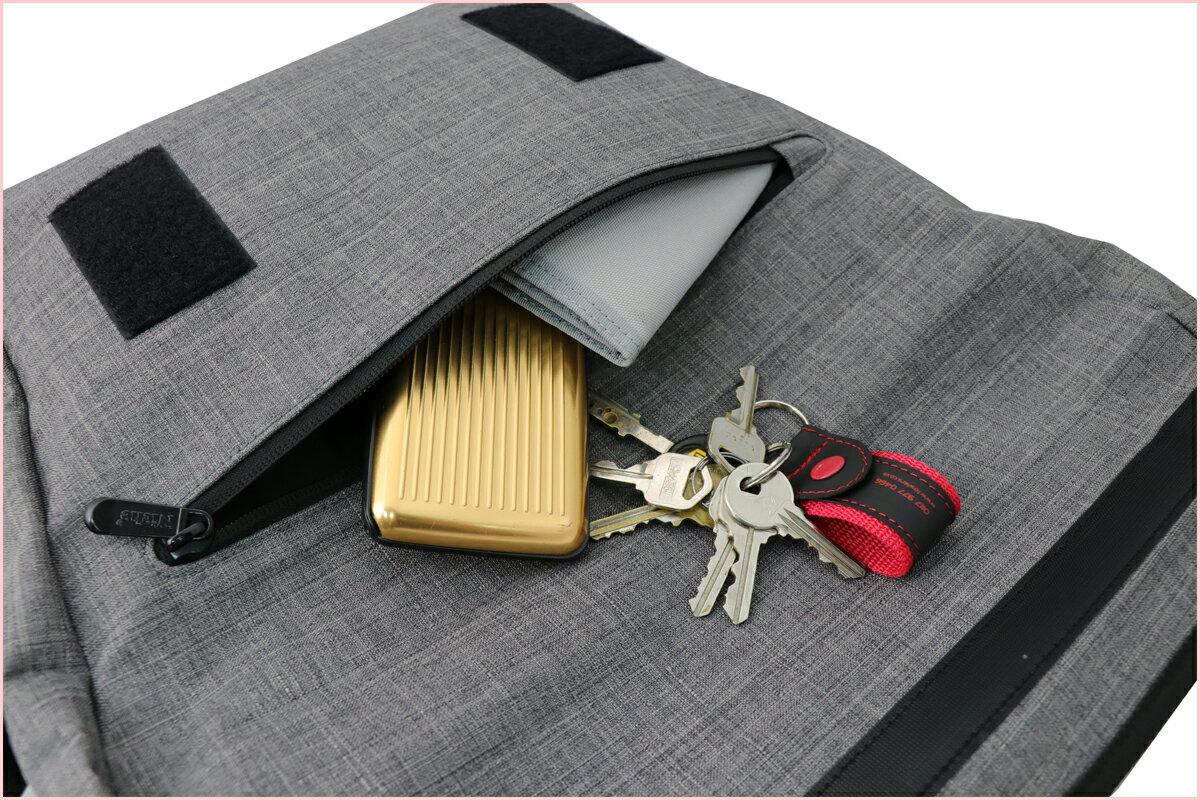 【N-5214】Niche 防水三用郵差包 防水背包 防水袋 戶外休閒背包 都會電腦包 袋子尺寸:43 x 35 x 9.5 公分 3