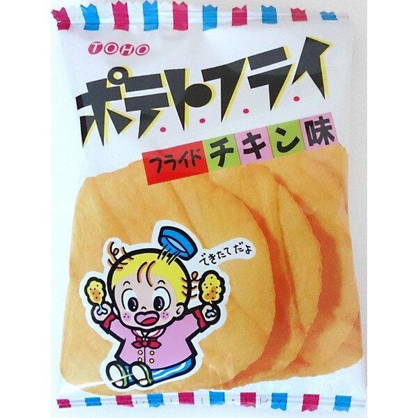 【東豊製菓】超人気零嘴 東豊洋芋片-雞汁風味 單包4枚入/每盒20包入  日本進口零食