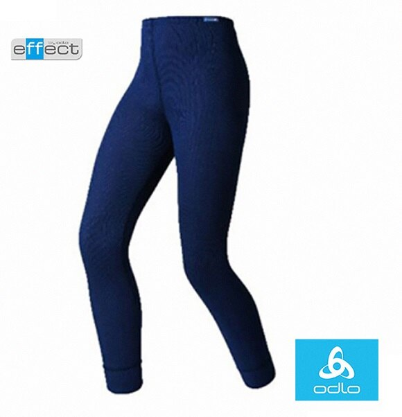 【【蘋果戶外】】odlo 10419 童褲 深藍 瑞士 機能保暖型排汗內衣 衛生衣 發熱衣 保暖衣 長袖