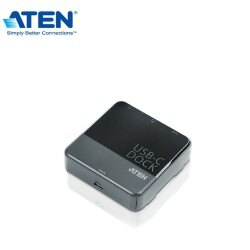 ATEN USB-C Display雙螢幕迷你擴充基座 (UH3231) 支援各種視訊轉接器【迪特軍】