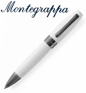 義大利Montegrappa萬特佳財富系列-原子筆(白-黑夾)ISFORBLH支